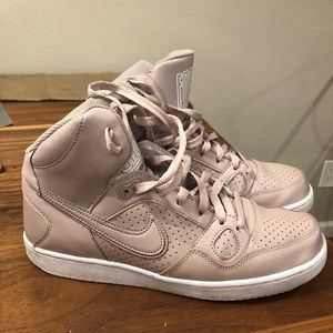 Son of Force Blush Pink Nike's